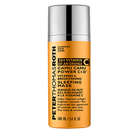 Camu Camu Power C x 30(TM) Vitamin C Brightening Sleeping Mask | Peter Thomas Roth | b-glowing