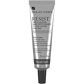 RESIST Triple-Action Dark Spot Eraser 7% AHA Lotion | Paula's Choice | b-glowing
