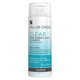 CLEAR Pore Normalizing Cleanser | Paula's Choice | b-glowing