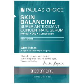 Skin Balancing Super Antioxidant Concentrate Serum with Retinol Sample