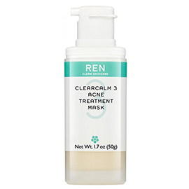 ACNE TREATMENT MASK | REN Skincare | b-glowing