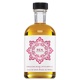 MOROCCAN ROSE OTTO BATH OIL | REN Skincare | b-glowing