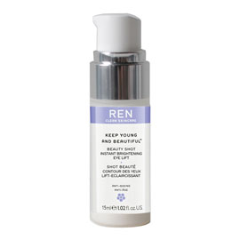 INSTANT BRIGHTENING BEAUTY SHOT EYE LIFT | REN Skincare | b-glowing