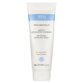 GENTLE EXFOLIATING CLEANSER- 100 mL | REN Skincare | b-glowing