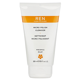 MICRO POLISH CLEANSER | REN Skincare | b-glowing