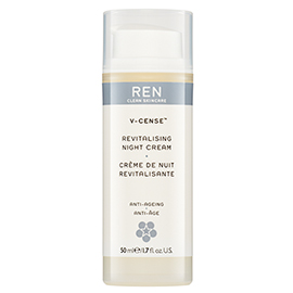 V-CENSE REVITALISING NIGHT CREAM | REN Skincare | b-glowing
