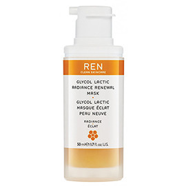 GLYCOL LACTIC RADIANCE RENEWAL MASK | REN Skincare | b-glowing