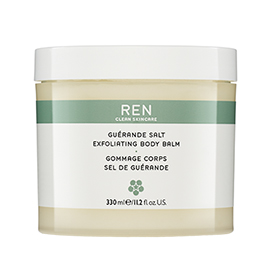 GUERANDE SALT EXFOLIATING BODY BALM | REN Skincare | b-glowing
