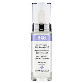 INSTANT FIRMING BEAUTY SHOT | REN Skincare | b-glowing