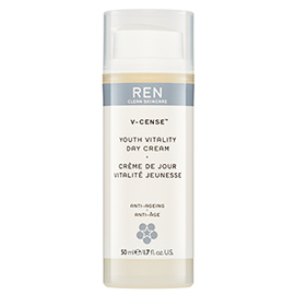 V-CENSE YOUTH VITALITY DAY CREAM | REN Skincare | b-glowing