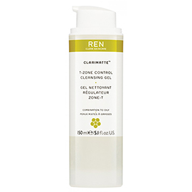 T-ZONE CONTROL CLEANSING GEL | REN Skincare | b-glowing