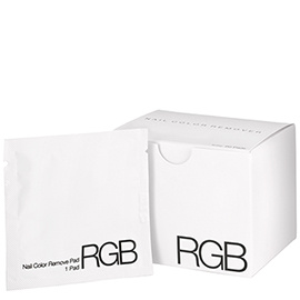 Nail Color Remover Pads | RGB Cosmetics | b-glowing