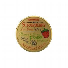 Strawberry Lip Balm Tin | Rosebud Salve | b-glowing