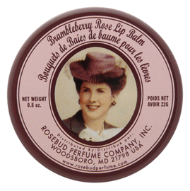 Brambleberry Rose Lip Balm | Rosebud Salve | b-glowing