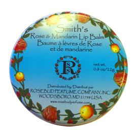 Rose and Mandarin Lip Balm | Rosebud Salve | b-glowing