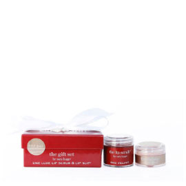 The Gift Set: Red Velvet Lip Scrub & Lip Slip
