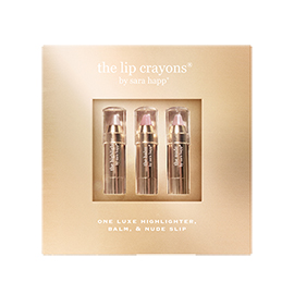 The Lip Crayons | Sara Happ | b-glowing