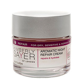 Aromatic Night Repair Cream | Kimberly Sayer of London | b-glowing