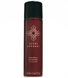 Meta Revive Dry Shampoo with Cedar Bark | Serge Normant | b-glowing
