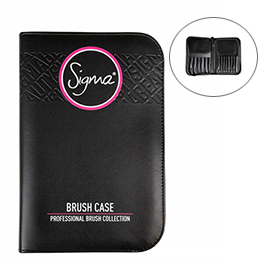 Brush Case - Black | Sigma Beauty | b-glowing