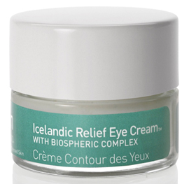 Icelandic Relief Eye Cream with Biospheric Complex | skyn ICELAND | b-glowing