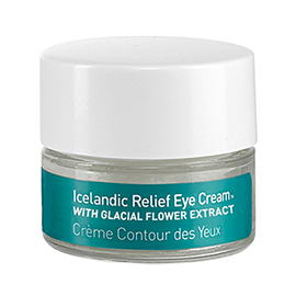 Icelandic Relief Eye Cream with Glacial Flower Extract | skyn ICELAND | b-glowing
