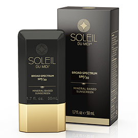 Mineral Based Sunscreen for Body SPF 30 - Travel Size | Soleil Toujours | b-glowing