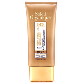100% Mineral Sunblock for Body SPF 45