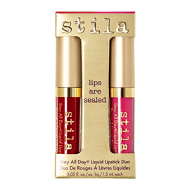 Lips Are Sealed Stay All Day Liquid Lipstick Duo - Limited Edition | Stila | b-glowing