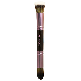 Double Ended Face Brush | Studio | 10 | b-glowing