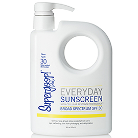 Everyday SPF 30 with Cellular Response Technology - 18 fl. oz. | Supergoop!  | b-glowing