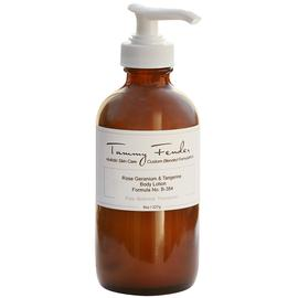 Rose Geranium & Tangerine Body Lotion | Tammy Fender | b-glowing