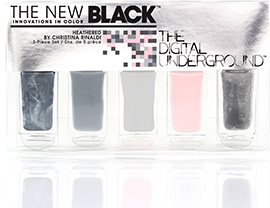 Heathered - 5-Piece Nail Polish Set