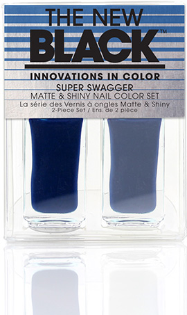 Indigo Cream Shine - Super Swagger 2-Piece Nail Polish Set