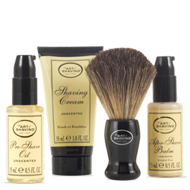 The 4 Elements Starter Mini Kit - Unscented | The Art of Shaving | b-glowing
