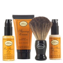 The 4 Elements Starter Mini Kit - Lemon | The Art of Shaving | b-glowing