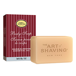 Body Soap - Sandalwood | The Art of Shaving | b-glowing