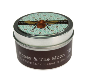 Honey & The Moon No. 10 Tin Candle