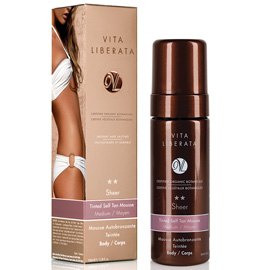 Sheer Tinted Self Tan Mousse - Medium