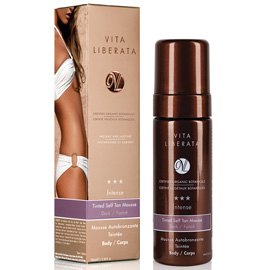 Intense Tinted Self Tan Mousse - Dark
