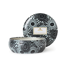 Japonica French Cade & Lavender 3 Wick Candle Tin | Voluspa | b-glowing