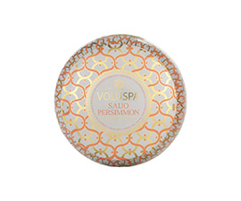 Saijo Persimmon - 2 Wick Maison Blanc Candle | Voluspa | b-glowing