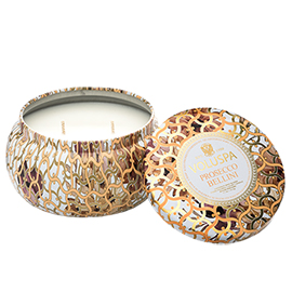 Prosecco Bellini - 2 Wick Maison Metallo Candle | Voluspa | b-glowing