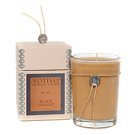 Aromatic Black Ginger Candle