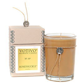Aromatic Honeysuckle Candle