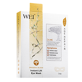 Dragon's Blood Instant Lift Eye Mask | WEI | b-glowing