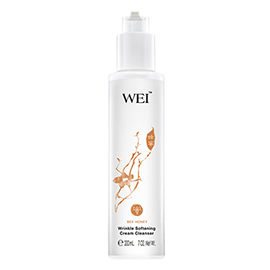 Bee Honey Wrinkle Softening Cream Cleanser  | WEI | b-glowing