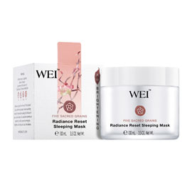 Five Sacred Grains Radiance Reset Sleeping Mask | WEI | b-glowing