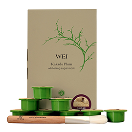 Kakadu Plum Brightening Sugar Mask | WEI | b-glowing