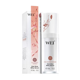 Five Sacred Grains Vital Glow Milky Serum | WEI | b-glowing